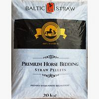 BALTIC STRAW bedding for horse