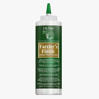 Farriers Finish / Life Data 473 ml Flasche